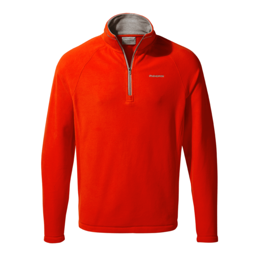 Craghoppers Men's Corey V Half Zip – Aster Red