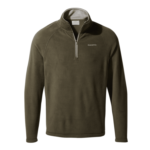Craghoppers Men's Corey V Half Zip – Woodland Green