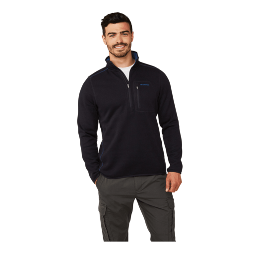 Craghoppers Men's Etna Half Zip – Dark Navy Marl