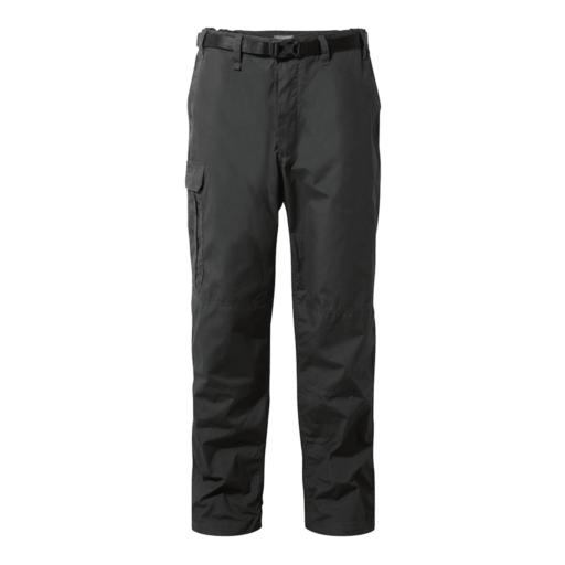 Craghoppers Men's Kiwi Trousers – Long – Black Pepper