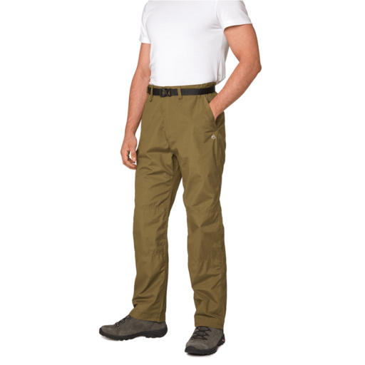 Craghoppers Men's Kiwi Trousers – Regular – Dark Moss