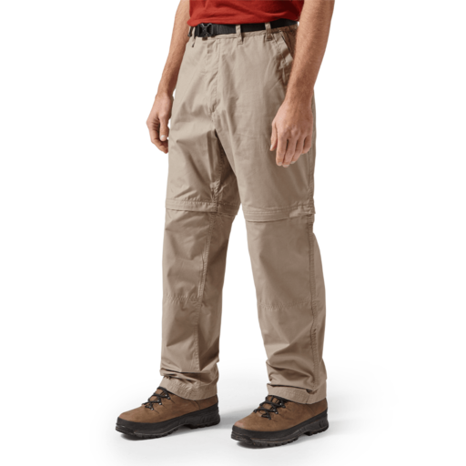 Craghoppers Men's Kiwi Convertible Trousers – Regular – Beach