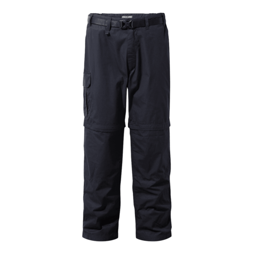 Craghoppers Men's Kiwi Convertible Trousers – Regular – Dark Navy