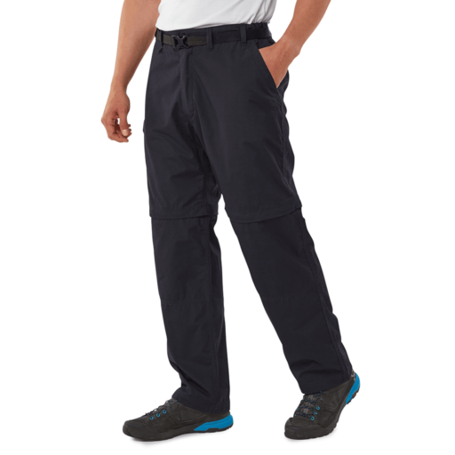Craghoppers Men's Kiwi Convertible Trousers – Short – Dark Navy