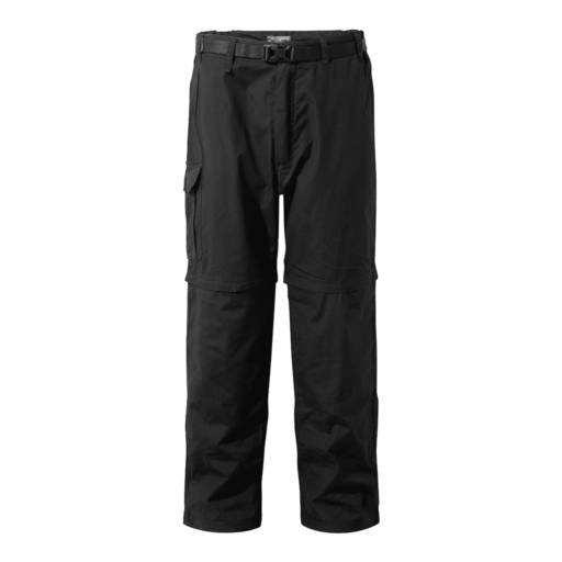 Craghoppers Men's Kiwi Convertible Trousers – Short – Black