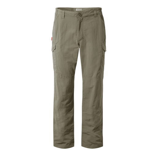 Craghoppers Men's NosiLife Cargo II Trousers – Short – Pebble