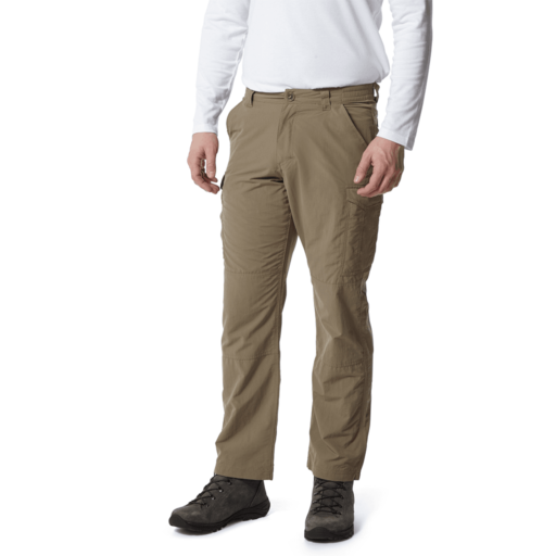 Craghoppers Men's NosiLife Cargo II Trousers – Long – Pebble