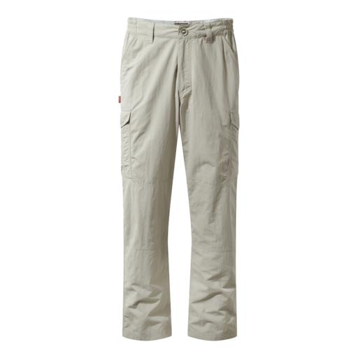 Craghoppers Men's NosiLife Cargo II Trousers – Long – Desert Sand