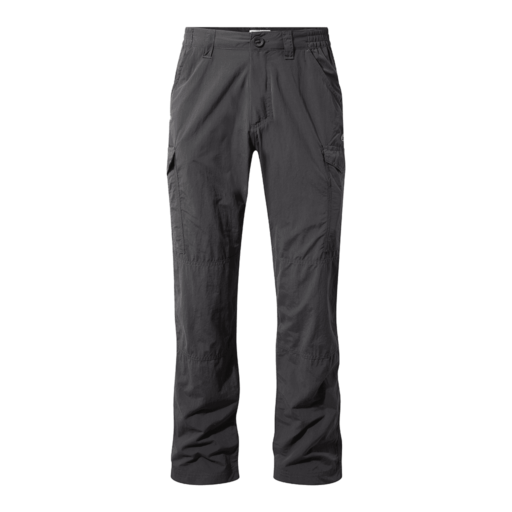 Craghoppers Men's NosiLife Cargo II Trousers – Long – Black Pepper