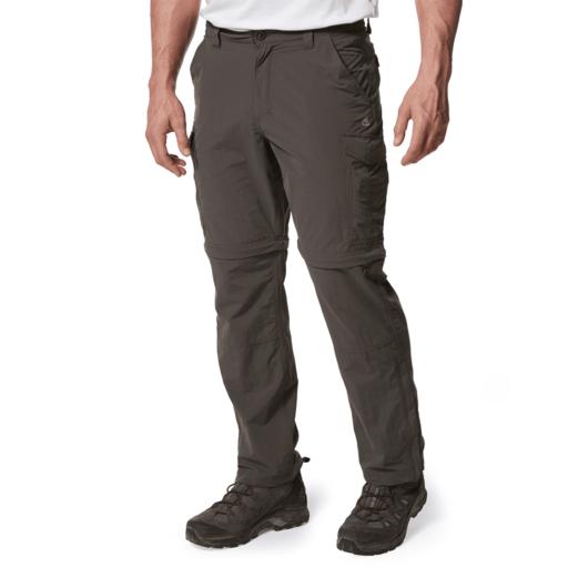 Craghoppers Men's NosiLife Convertible II Trousers – Long – Bark