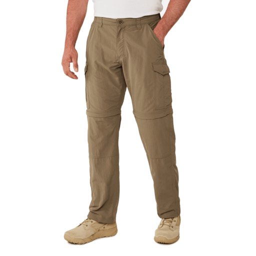 Craghoppers Men's NosiLife Convertible II Trousers – Long – Pebble