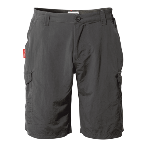 Craghoppers Men's NosiLife Cargo II Shorts – Black Pepper