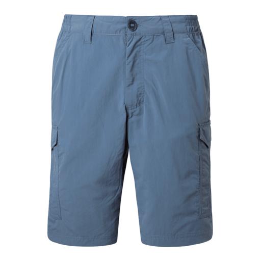 Craghoppers Men's NosiLife Cargo II Shorts – Ocean Blue