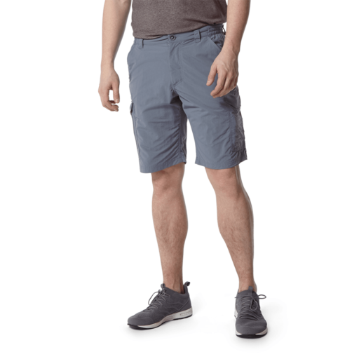 Craghoppers Men's NosiLife Cargo II Shorts – Ocean Blue