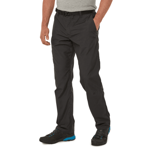 Craghoppers Men's Kiwi Boulder Trouser – Short – Black Pepper