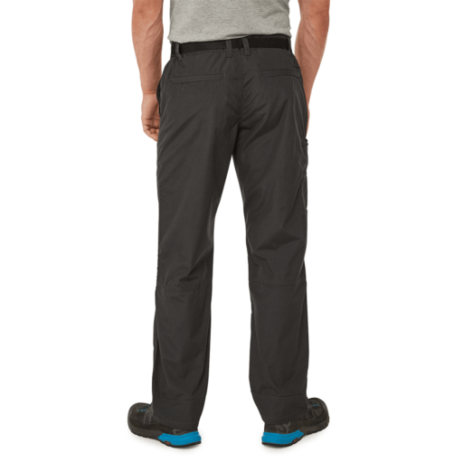 Craghoppers Men's Kiwi Boulder Trouser – Long – Black Pepper