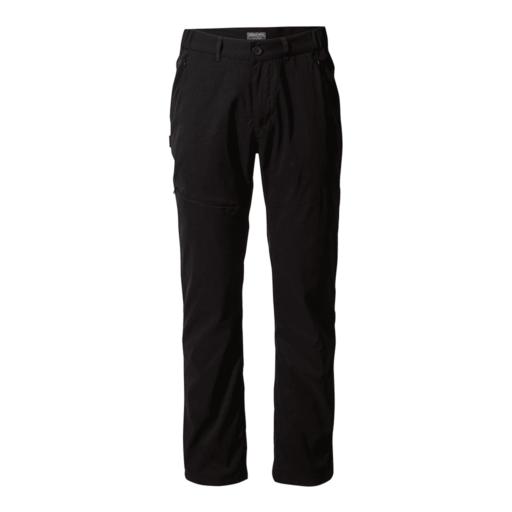 Craghoppers Men's Kiwi Pro II Winter Lined Trouser – Long – Black