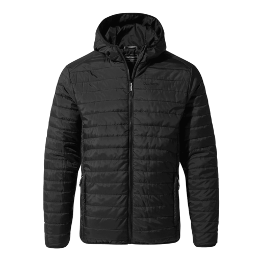 Craghoppers Men's Compresslite III Hooded Jacket – Black