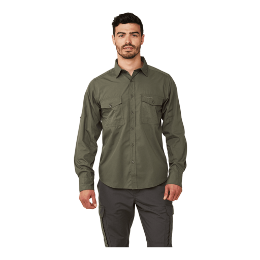 Craghoppers Men's Kiwi Long Sleeved Shirt – Cedar