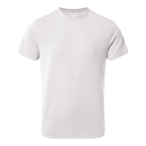 Craghoppers Men's First Layer Short Sleeved T-Shirt – Optic White