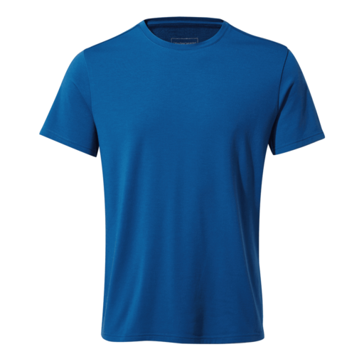 Craghoppers Men's First Layer Short Sleeved T-Shirt – Deep Blue