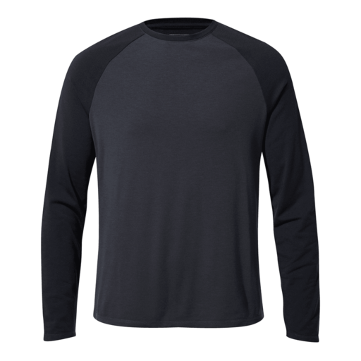 Craghoppers Men's First Layer Long Sleeved T-Shirt – Steel Blue / Blue Navy