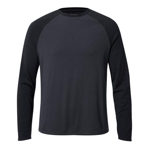 Craghoppers Men's First Layer Long Sleeved T-Shirt – Steel Blue / Blue Navy
