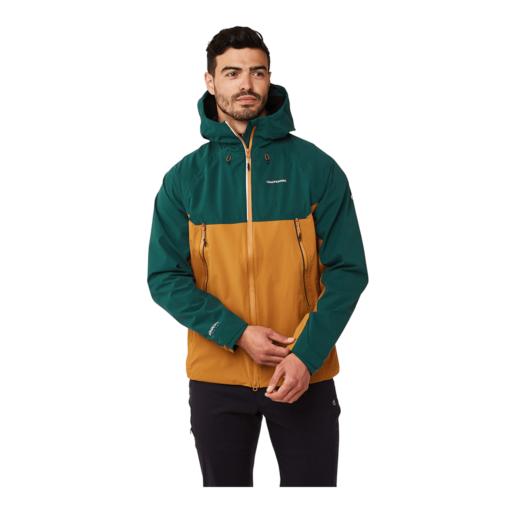 Craghoppers Men's Trelawney Jacket – Mountain Green / Spiced Copper