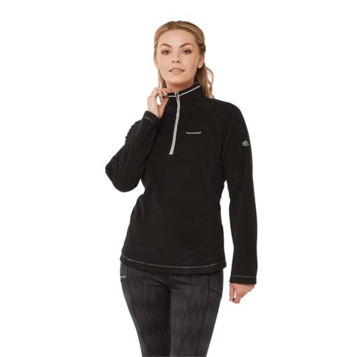 Craghoppers Women's Miska V Half Zip – Black