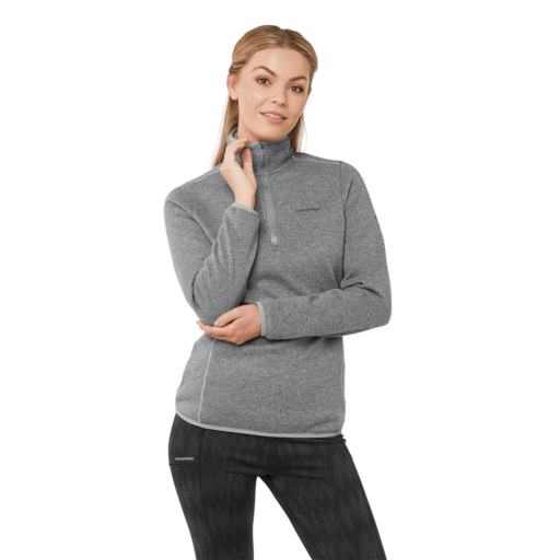Craghoppers Women's Caldera Half Zip – Cloud Grey Marl