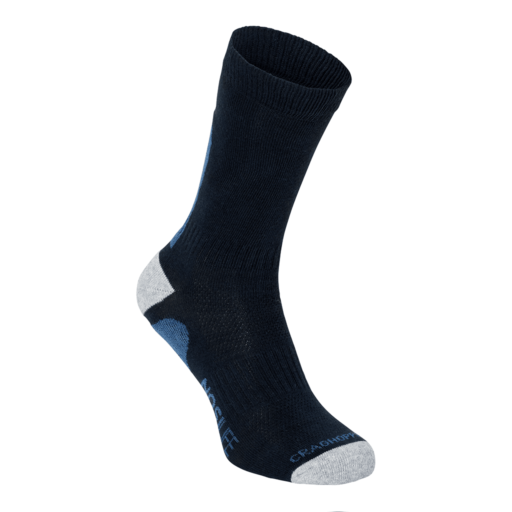 Craghoppers NosiLife Adventure Sock – Dark Navy – Twin Pack