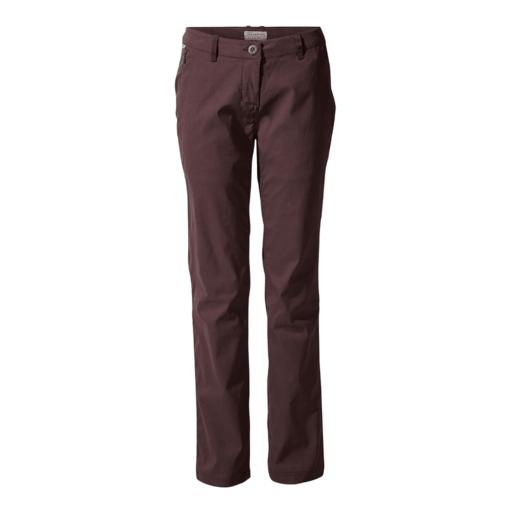 Craghoppers Women's Kiwi Pro II Trouser – Long – Port