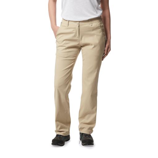 Craghoppers Women's Kiwi Pro II Trouser – Long – Desert Sand