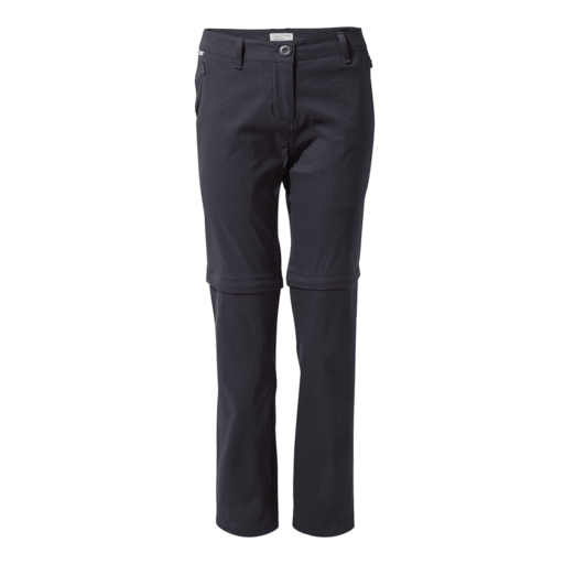 Craghoppers Women's Kiwi Pro II Convertible Trouser – Long – Dark Navy