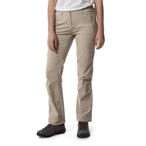 Craghoppers Women's NosiLife Pro II Trouser – Long – Mushroom