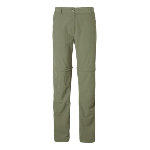 Craghoppers Women's NosiLife III Convertible Trouser – Long – Soft Moss