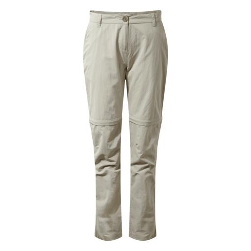 Craghoppers Women's NosiLife III Convertible Trouser – Regular – Desert Sand