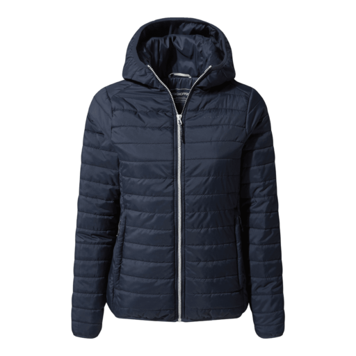 Craghoppers Women's Compresslite III Hooded Jacket – Blue Navy