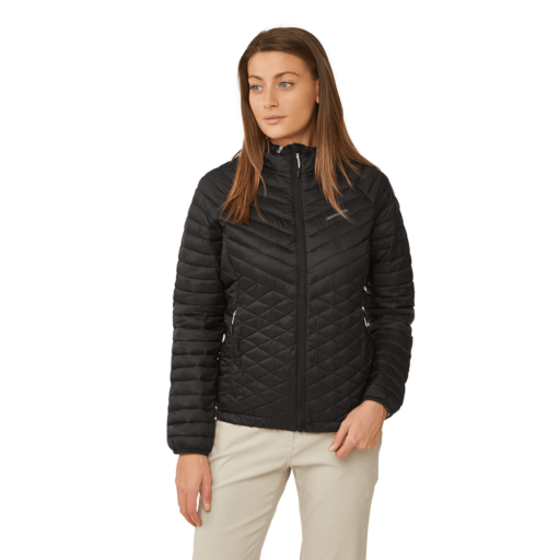 Craghoppers Women's Expolite Hooded Jacket – Black