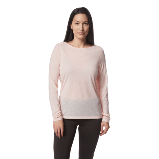 Craghoppers Women's NosiLife Erin II Long Sleeved Top – Seashell Pink