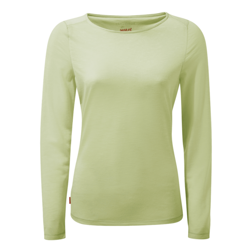 Craghoppers Women's NosiLife Erin II Long Sleeved Top – Soft Pistachio