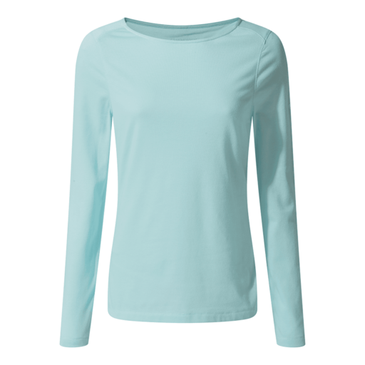 Craghoppers Women's NosiLife Erin II Long Sleeved Top – Capri Blue