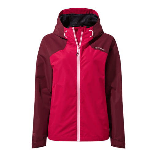 Craghoppers Women's Toscana Jacket – Wildberry / Winter Rose
