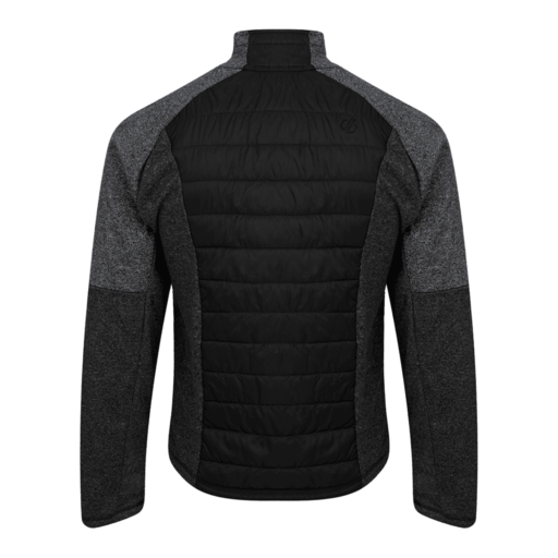 Dare 2b Men's Sparked Sweater – Black / Charcoal Grey Marl