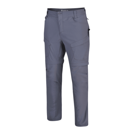 Dare 2b Men's Tuned In II Zip Off Trouser – Regular – Quarry Grey