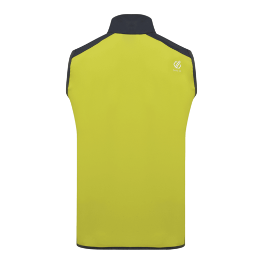 Dare 2b Men's Appertain II Softshell Vest – Ocean Depths / Citron Lime / Ebony Grey