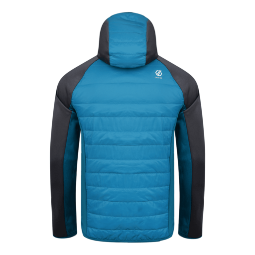 Dare 2b Men's Coordinate Wool Hybrid Jacket – Ebony Grey / Citron Lime / Ocean Depths