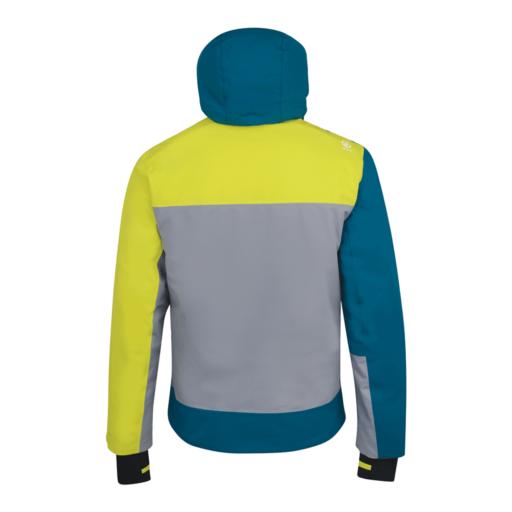 Dare 2b Men's Travail Pro Ski Jacket – Cloudy Grey / Ocean Depths / Citron Lime