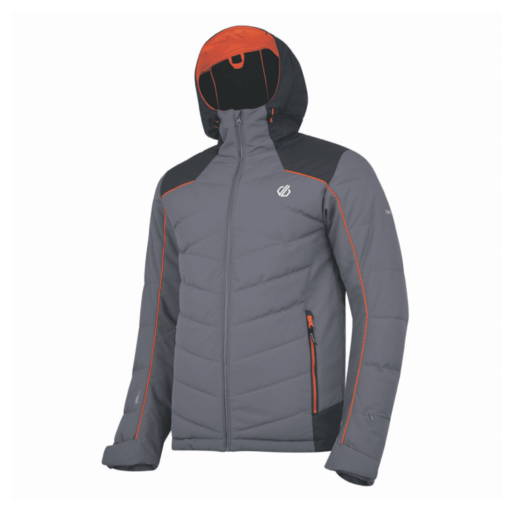 Dare 2b Men's Maxim Ski Jacket – Aluminium Grey / Ebony Grey