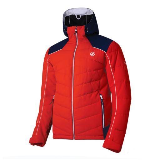 Dare 2b Men's Maxim Ski Jacket – Fiery Red / Admiral Blue
